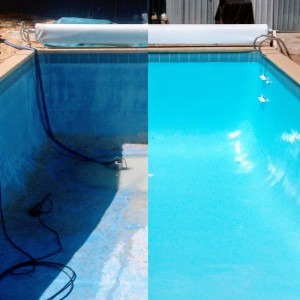 Before and After Pool Restoration