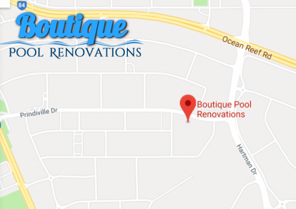 Boutique Pool Renovations Perth Map