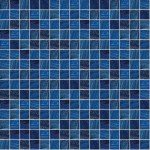 Brillante Dark Blue Glass Mosaic Pool Tile