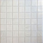 Brilliante White Glass Mosaic Pool Tile