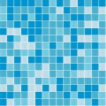 Cottesloe Blue Glass Mosaic Pool Tile