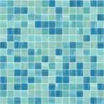 Relaxation Glass Mosaic Pool Tile