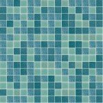 Splash Mix Glass Mosaic Pool Tile